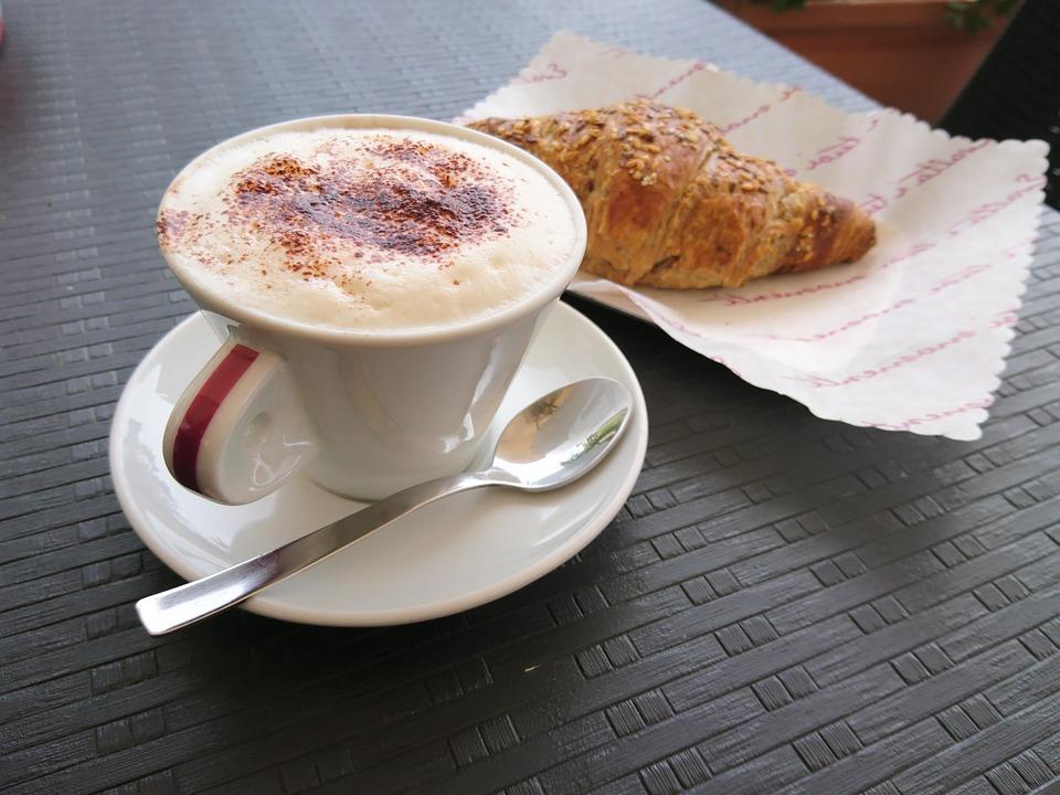 Breakfast, Cappuccino, Coffee, Drink, Cup, Caffeine