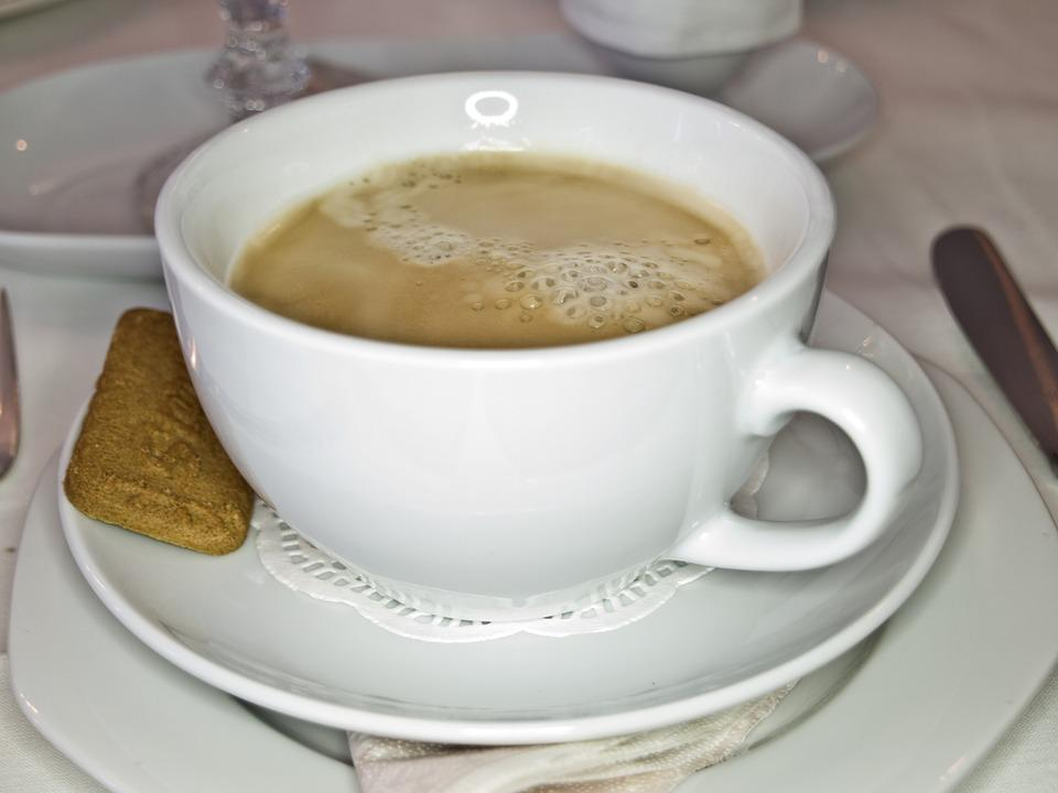 Coffee, Cup, White, Arabica, Tableware, Breakfast