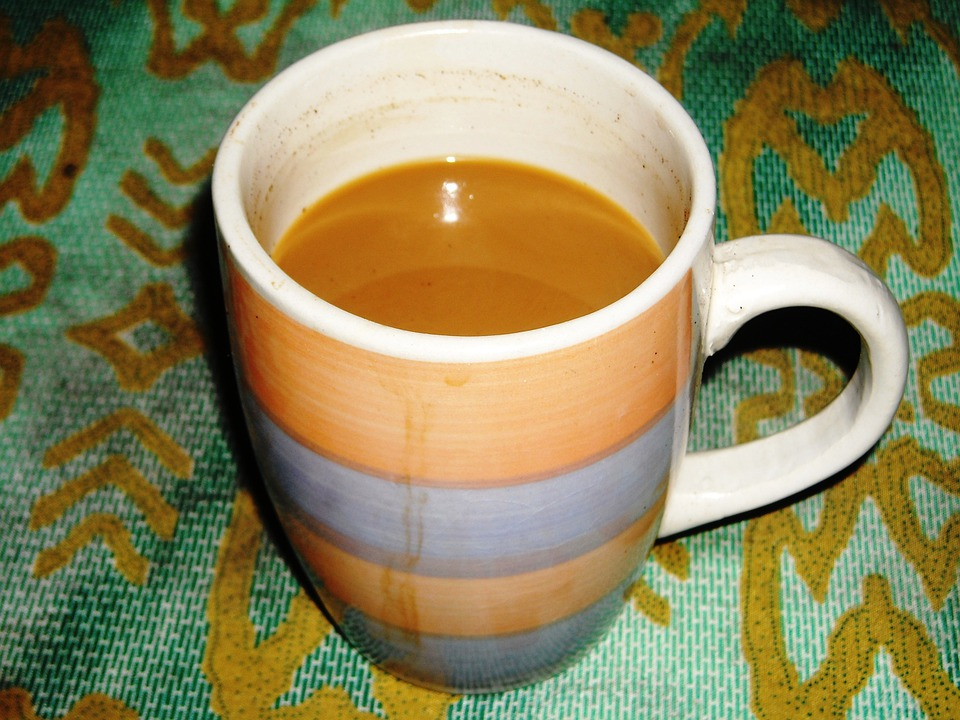 Cup, Coffee, Milk, Taplak