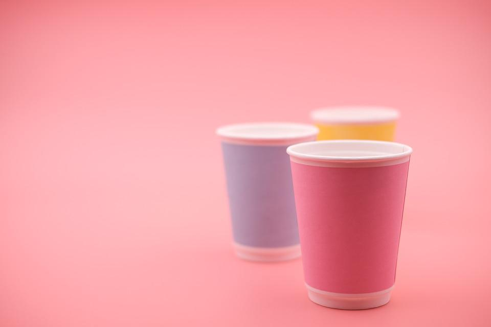 Cup, Disposable Cups, Coffee Mugs, Teacup, T, Cardboard