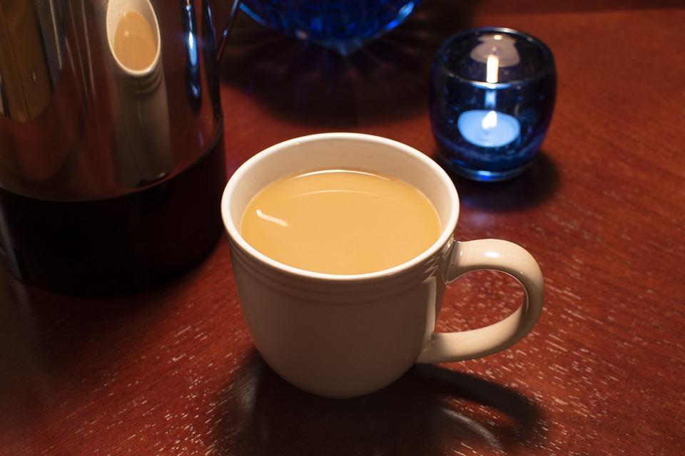 Coffee, Coffee Pot, Drink, Cup, Breakfast, Table