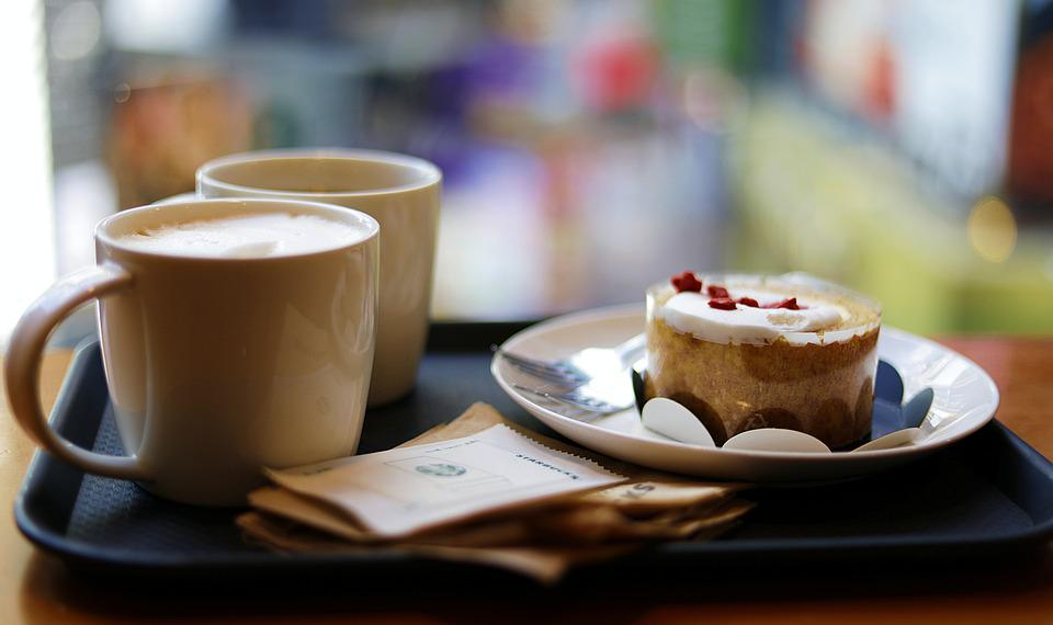 Coffee, Starbucks, Cup, Drinks, Food, Cafe, Morning