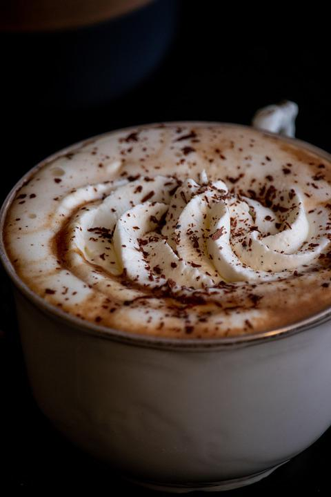 Hot Chocolate, Drink, Cup, Whipped Cream, Cocoa, Hot