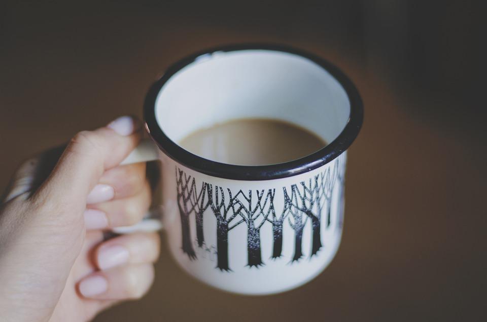 Coffee, Cup, Drink, Hand, Macro, Mug