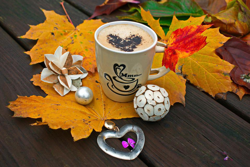 Coffee, Autumn, Leaves, Cup, Fall, Drink, Decoration