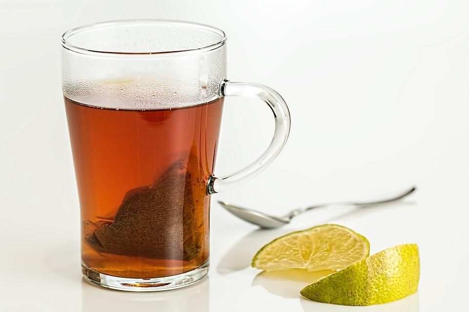 Lemon Tea, Tea, Cup Of Tea, Lemon, Drink, Cup, Glass