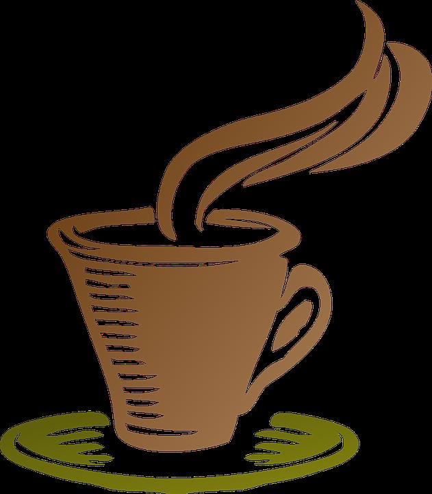 Cup, Coffee, Icon, Steam, Espresso, Drink, Café
