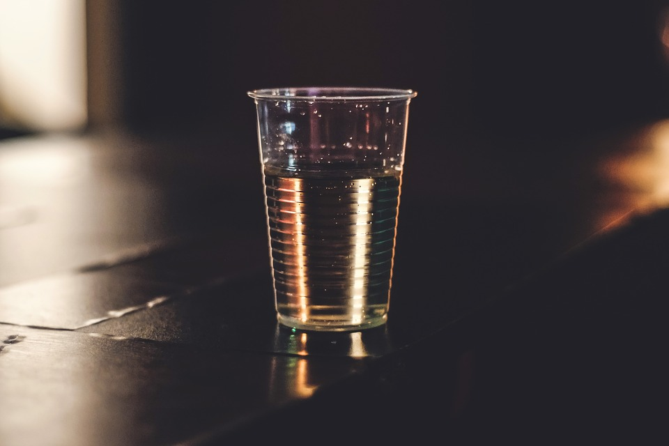 Cup, Plastic, Drink, Restaurant, Bar, Drinking, Table