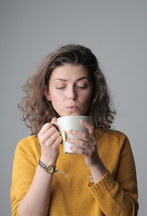 Woman, Portrait, Tea, Cup, Love, Beautiful, Cute, Model