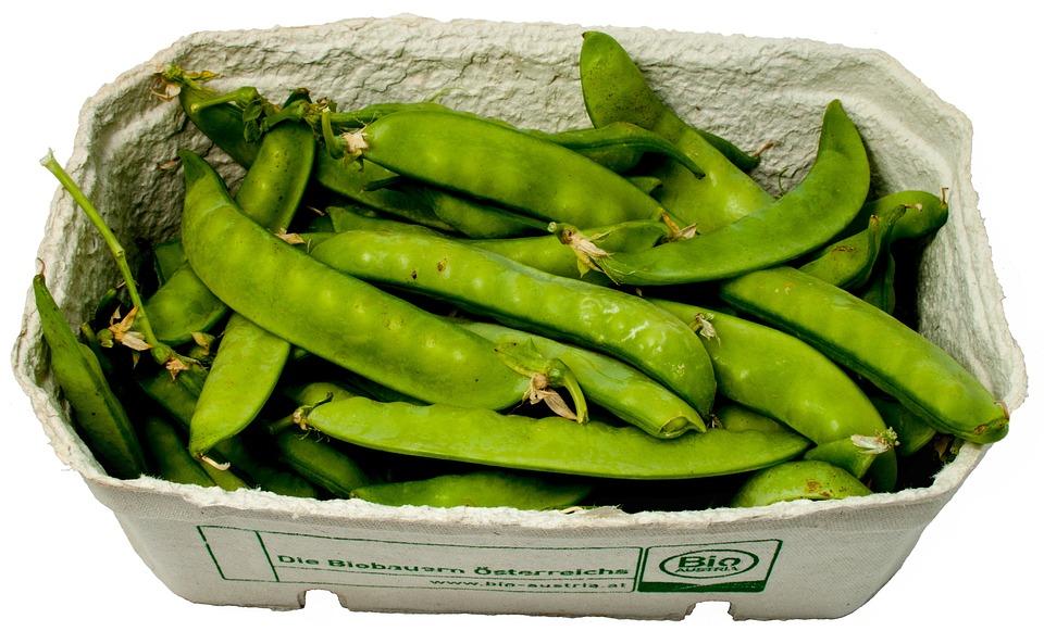 Sugar Peas, Peas, Cup, Vegetables, Green, Healthy, Eat