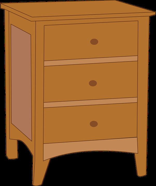Cupboard, Bedroom, Brown, Dresser, Furniture