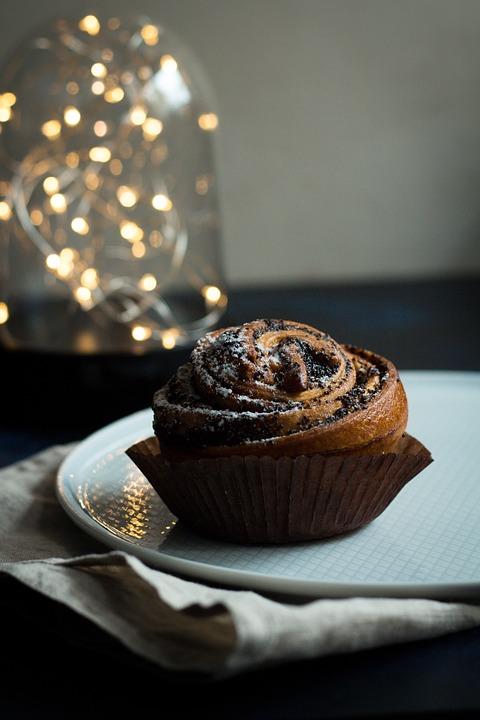 Bun, Mack, Cupcake, Sweet, Cake, Dessert