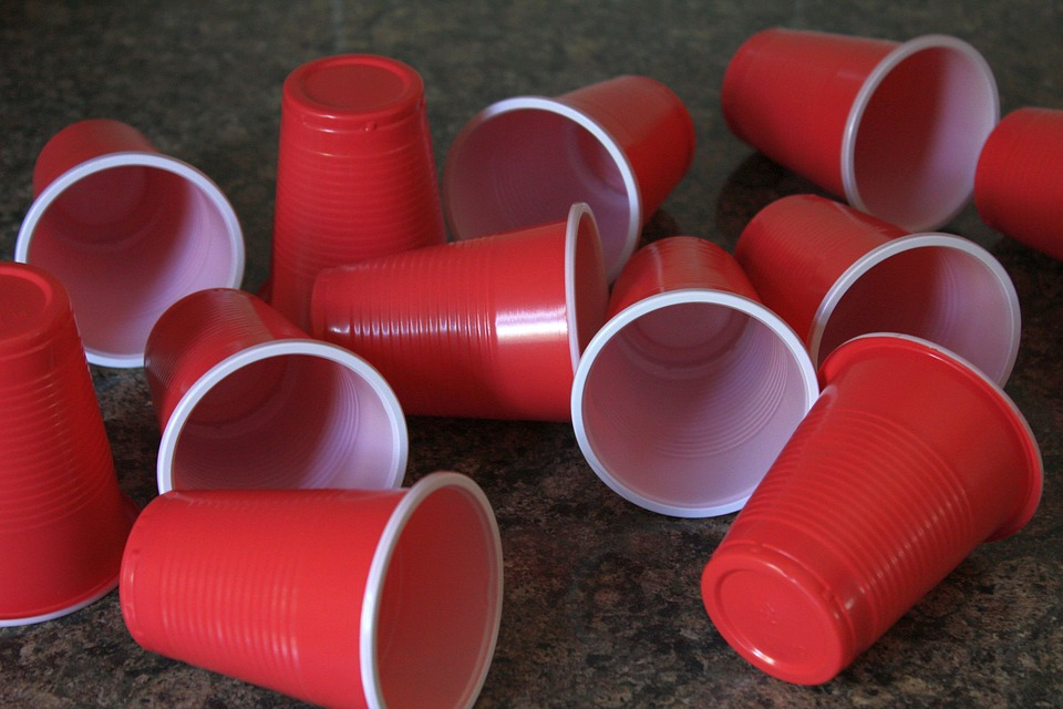 Recycle, Cups, Plastic, Container, Waste, Drink