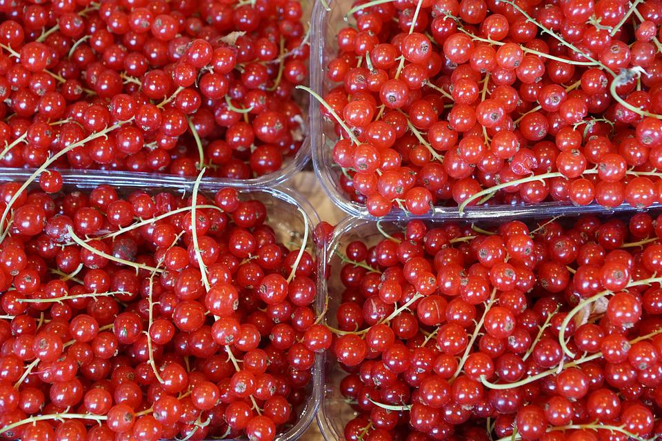 Currants, Eat, Berries, Vitamins, Food, Red, Bazar