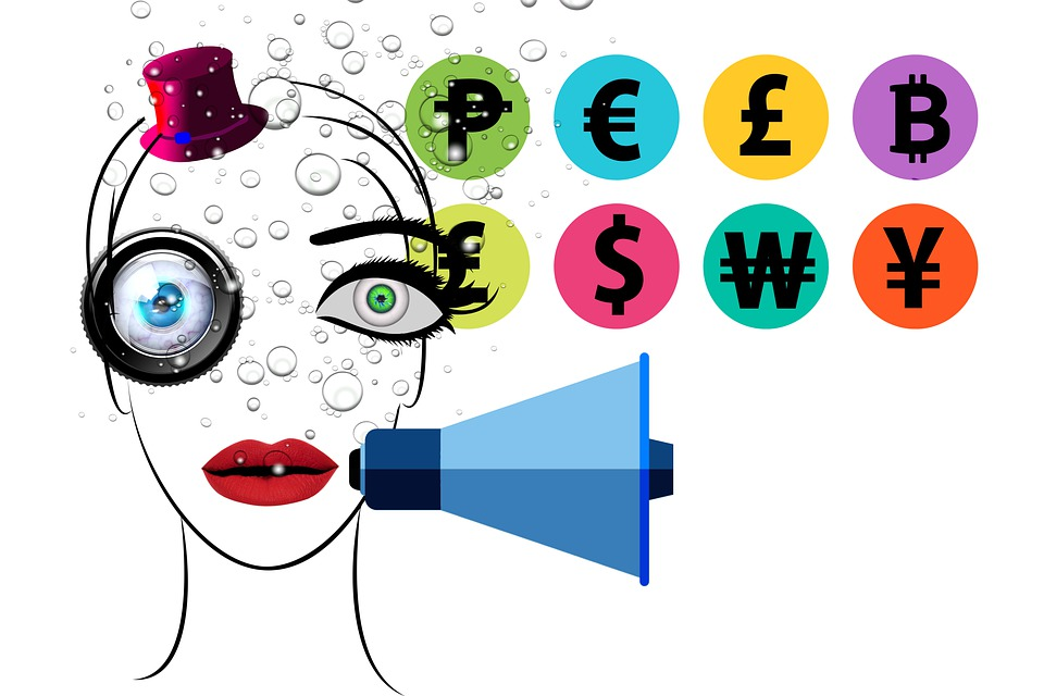 Free photo Currency Bubbles Social Media Money Influencer - Max Pixel