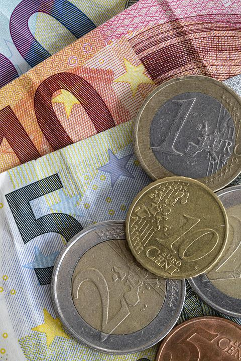 Money, Coins, Finance, Currency, Wealth, Euro, Cash