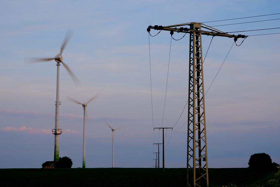 Energy, Current, Electricity, Power Line, Cable