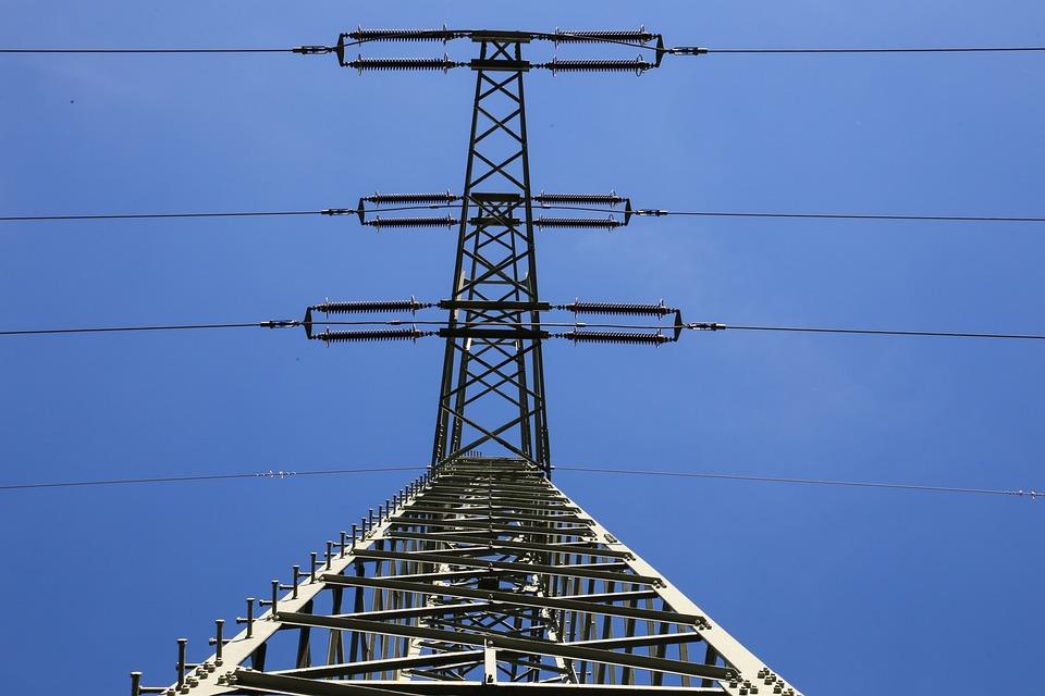 Pylon, Electricity, Current, Energy