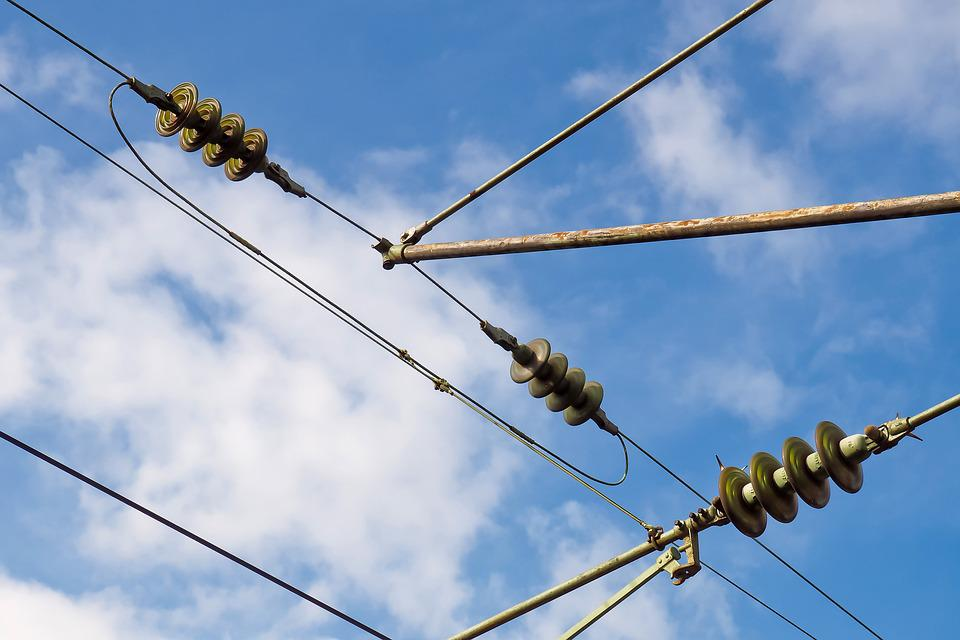 Catenary, Current, Energy, High Voltage, Power Line