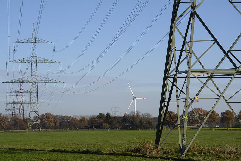 Power Line, Strommast, Energy, Current, Electricity