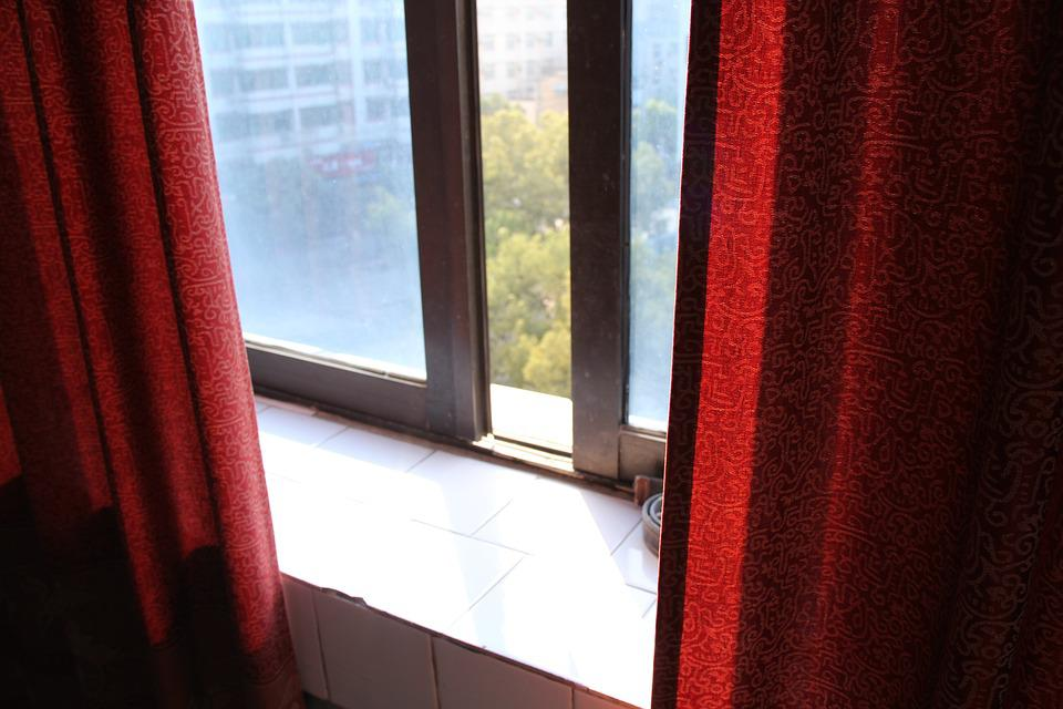 Curtains, Window, Balcony
