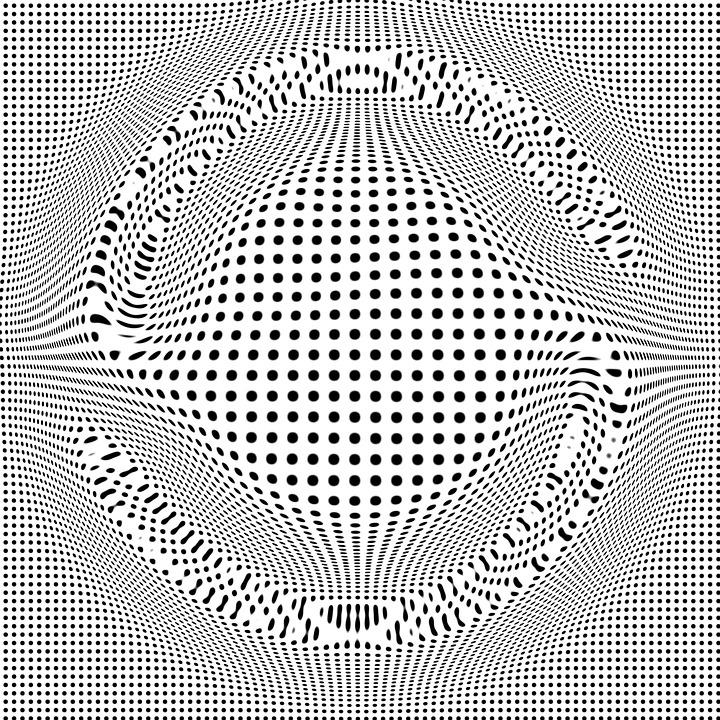 Illusion, Form, Shape, Curve, Design, Backdrop