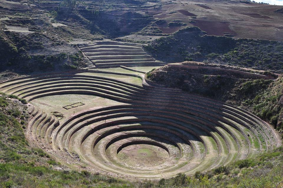 Cusco, Peru, Inca, Ruin, Agriculture, South, America