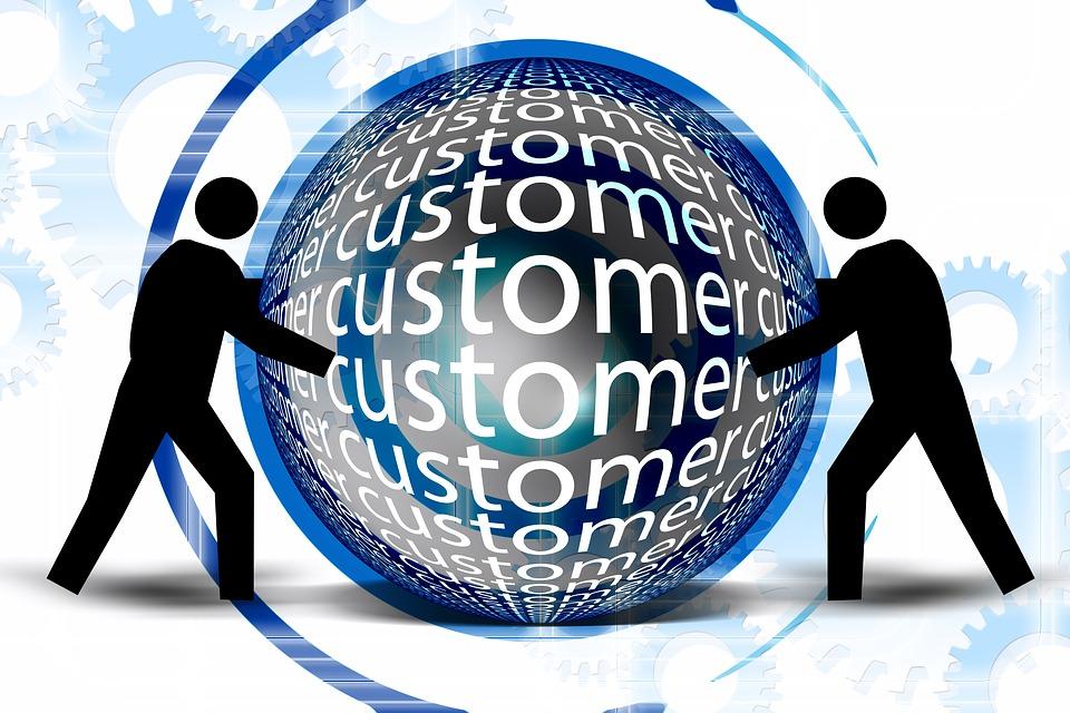 Center, Customer, Customers, Consumer, Centered, Gears