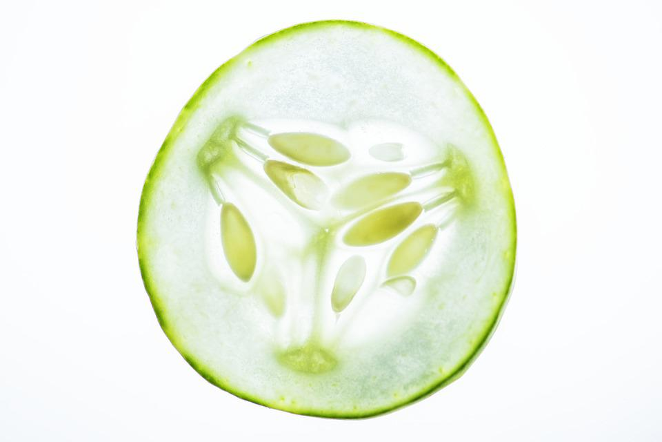 Bright, Close Up, Cold, Cucumber, Cut, Cutout