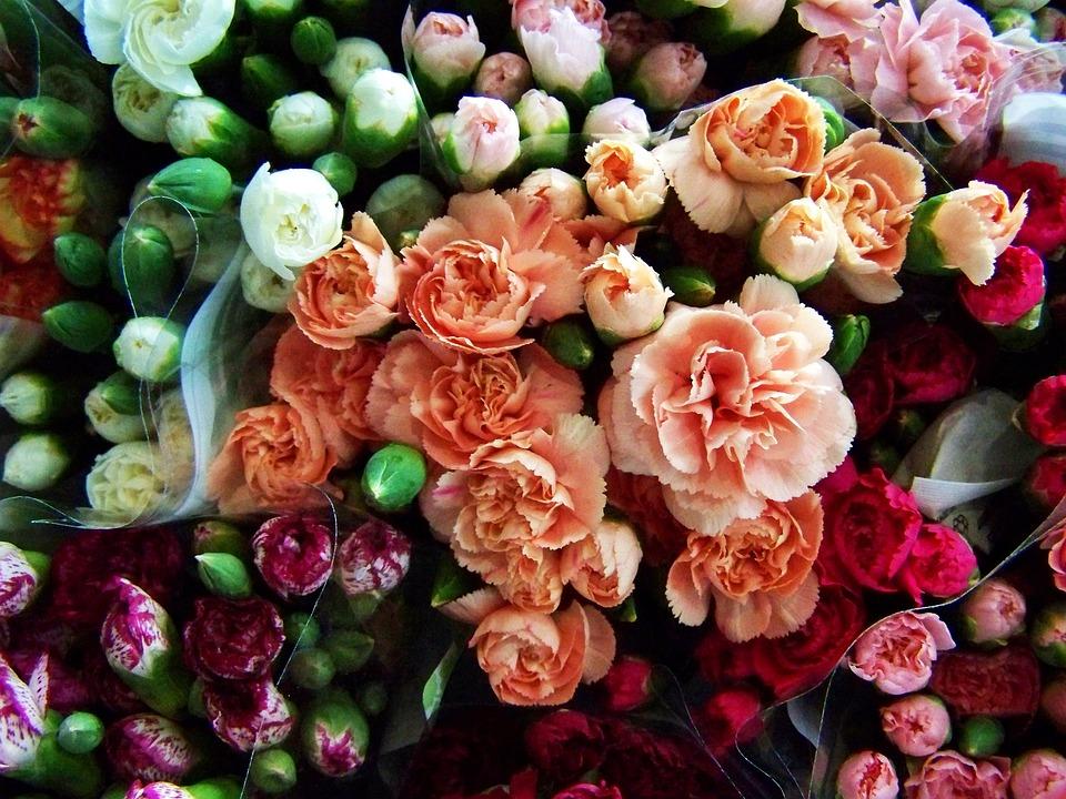 Free photo Cut Flower Colorful Flower Bouquets - Max Pixel