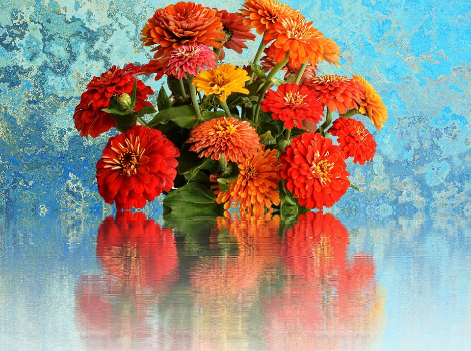 Free photo Cut Flowers Summer Flowers Bouquet Of Flowers - Max Pixel