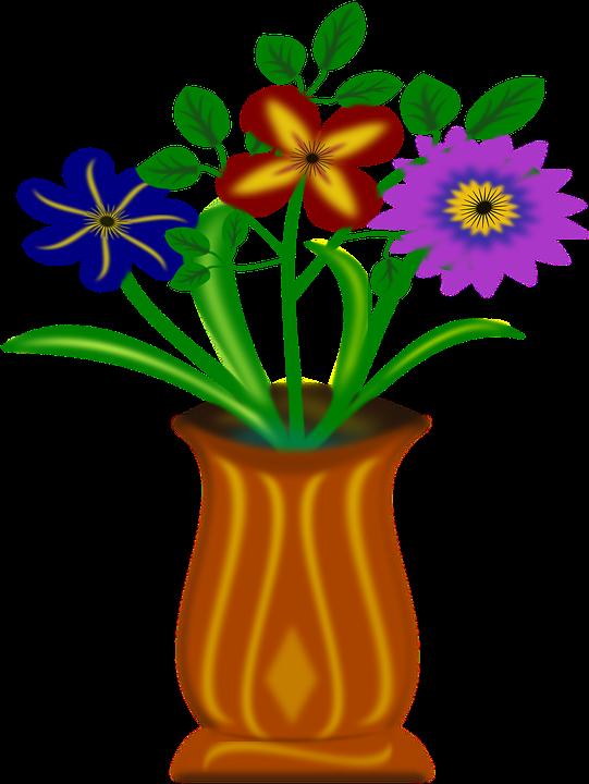Flowers, Vase, Cut Flowers
