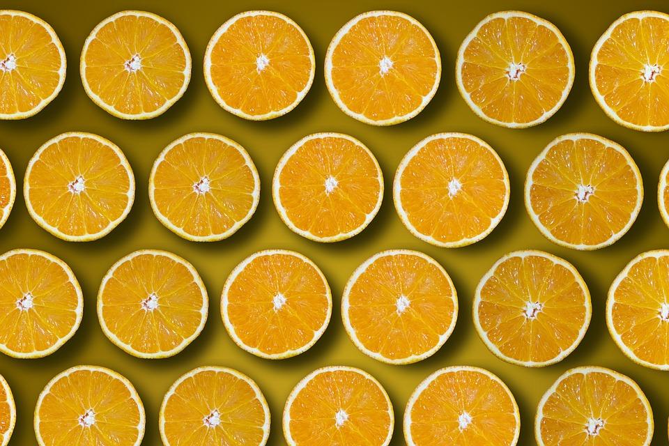 Oranges, Cut In Half, Vitamin C, Series, Ranking