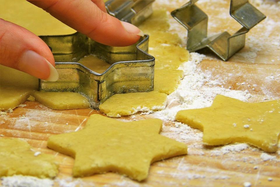 Dough, Cookie, Cut Out, Bake, Finger, Flour