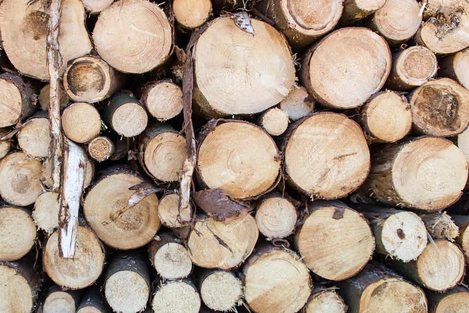 Wood, Cut, Gardening, Tree Trunks, Pile Of Wood