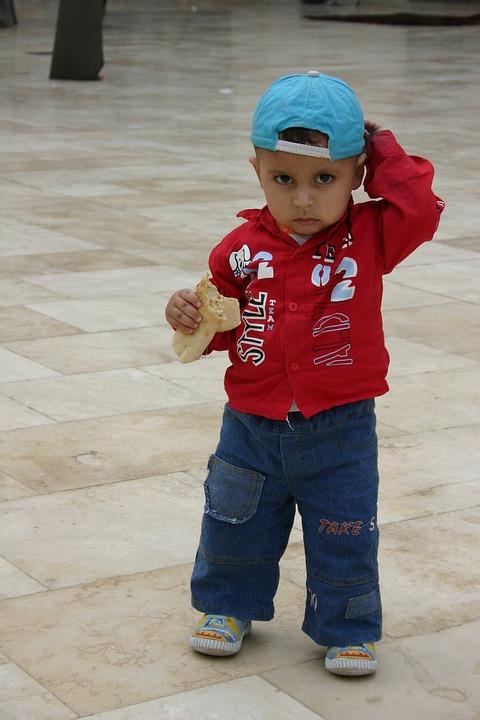 Little Boy, Blue Cap, Cute