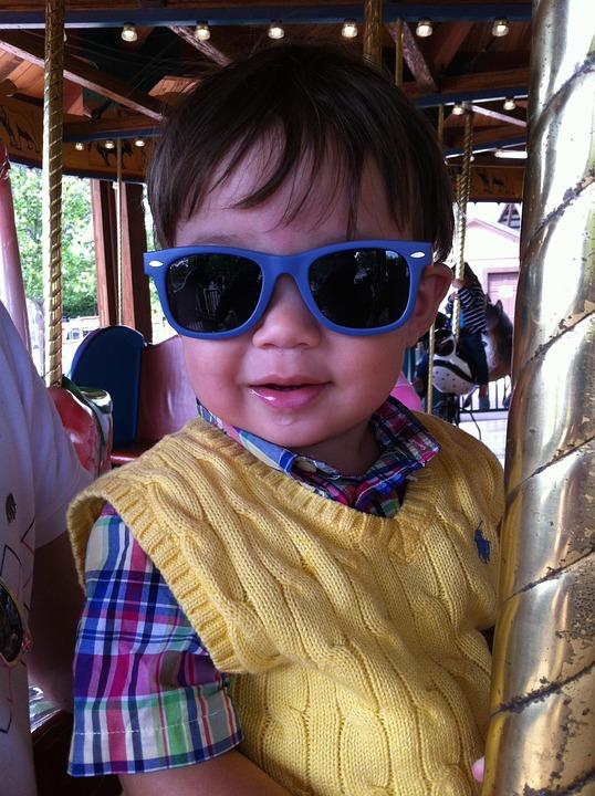 Boy, Child, Sunglasses, Fashion, Lifestyle, Cute