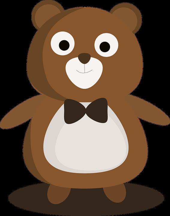 Little Bear, Cartoon, Cute