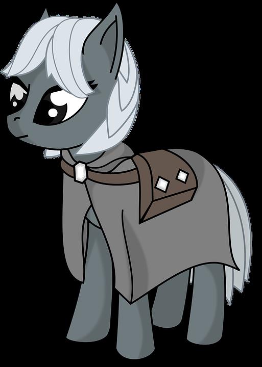 Free Photo Cute Cartoon Pony Horse Animal Max Pixel Gambar