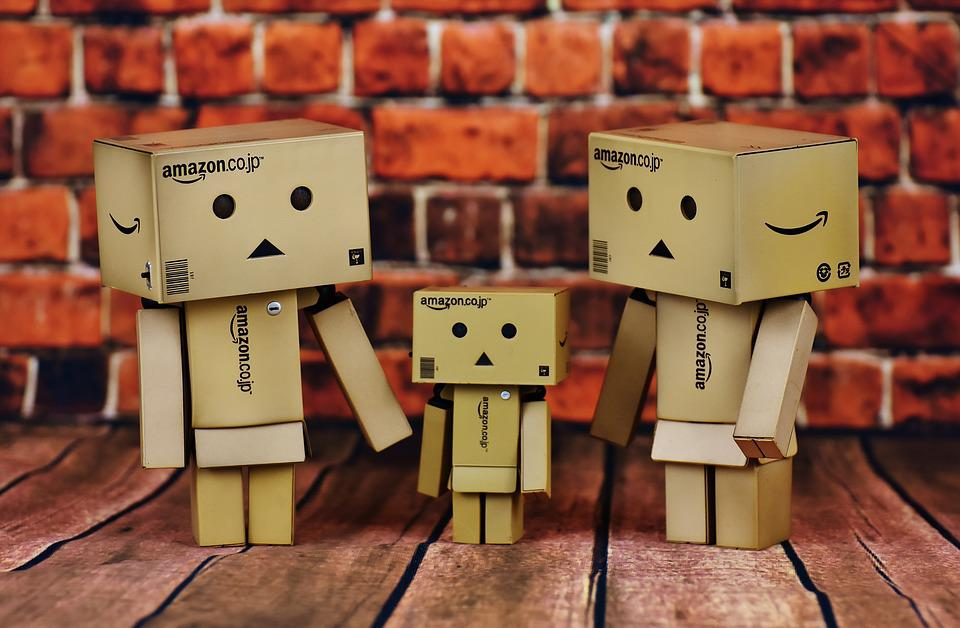 Family, Parents, Child, Danbo, Cute, Funny, Figures