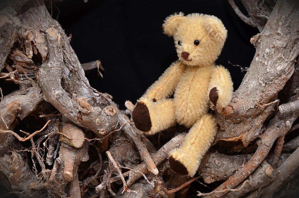 Teddy Bear, Hand Labor, Small, Cute, Hobby, Deco