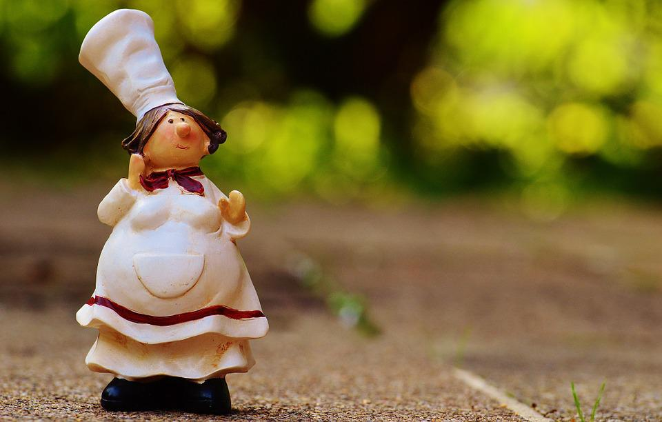 Cook, Figures, Funny, Chef's Hat, Cute, Fig