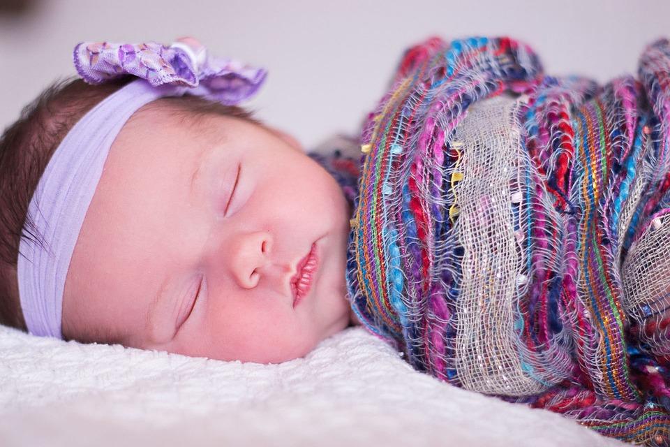 Baby, Sleeping, Girl, Infant, New Born, Cute