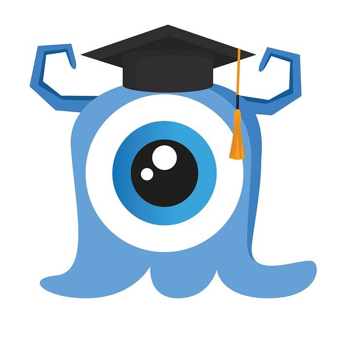 Free photo Cute Kids Graduation Cartoon Clipart Monster ...