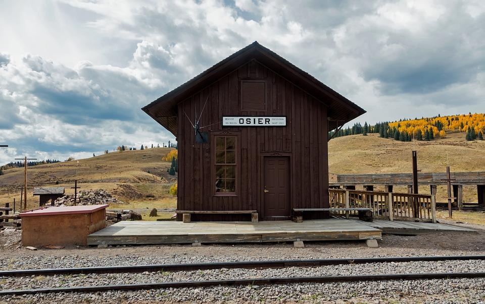 Train Depot, Station, Little, Tiny, Cute, Osier