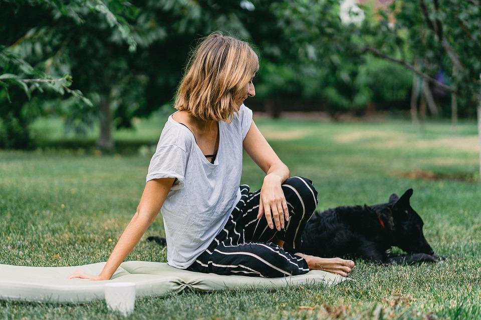 Woman, Dog, Picnic, Friend, Animal, Puppy, Pet, Cute