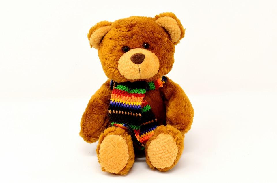 Teddy, Stuffed Animal, Teddy Bear, Soft Toy, Cute