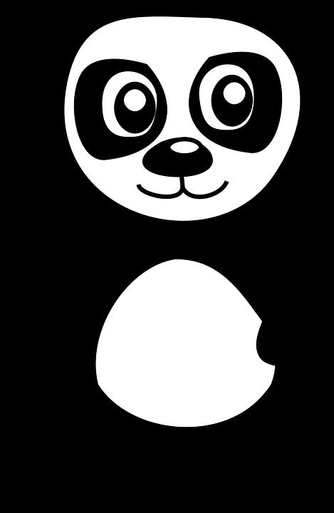 Panda, Bear, Waving, Animal, Mammal, Hello, Cute