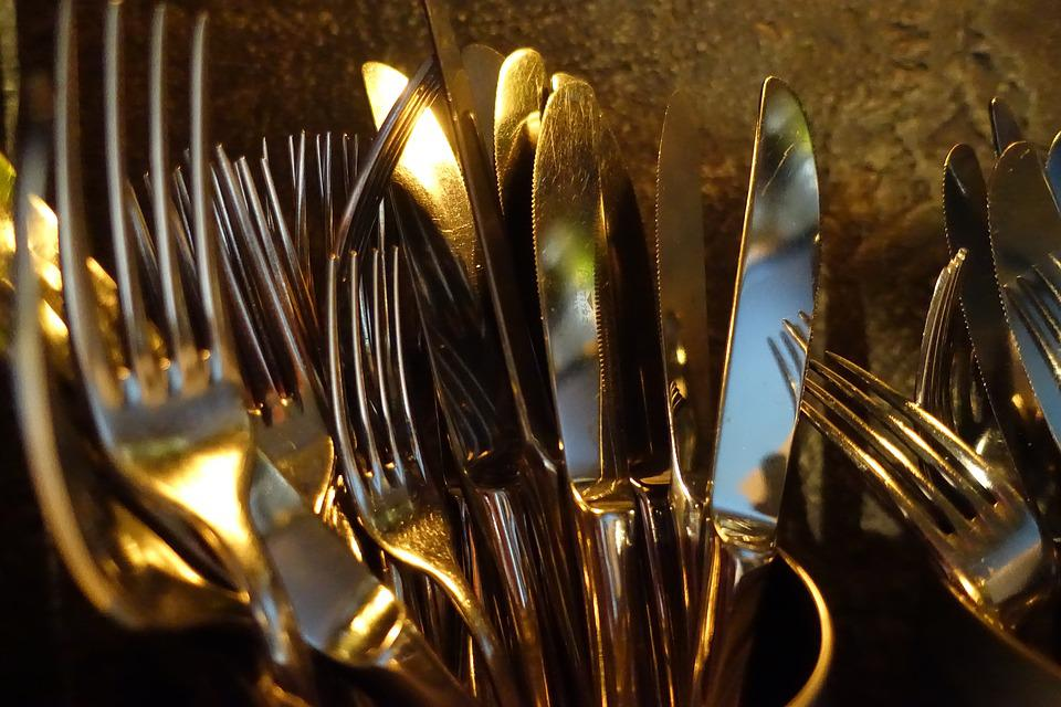 Cutlery, Dining, Forks, Knives