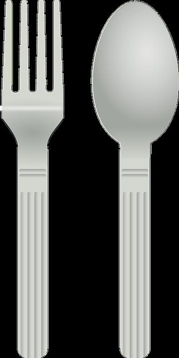 Fork, Spoon, Silverware, Cutlery